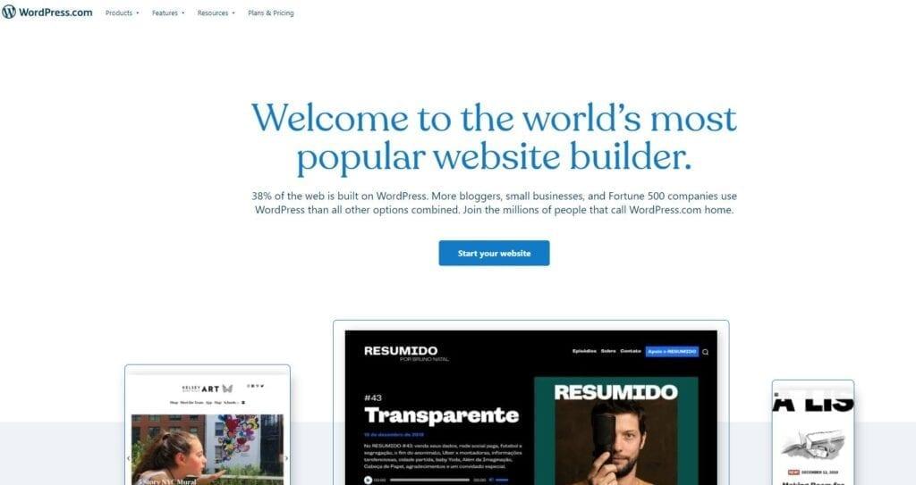 wordpress website builder malaysia