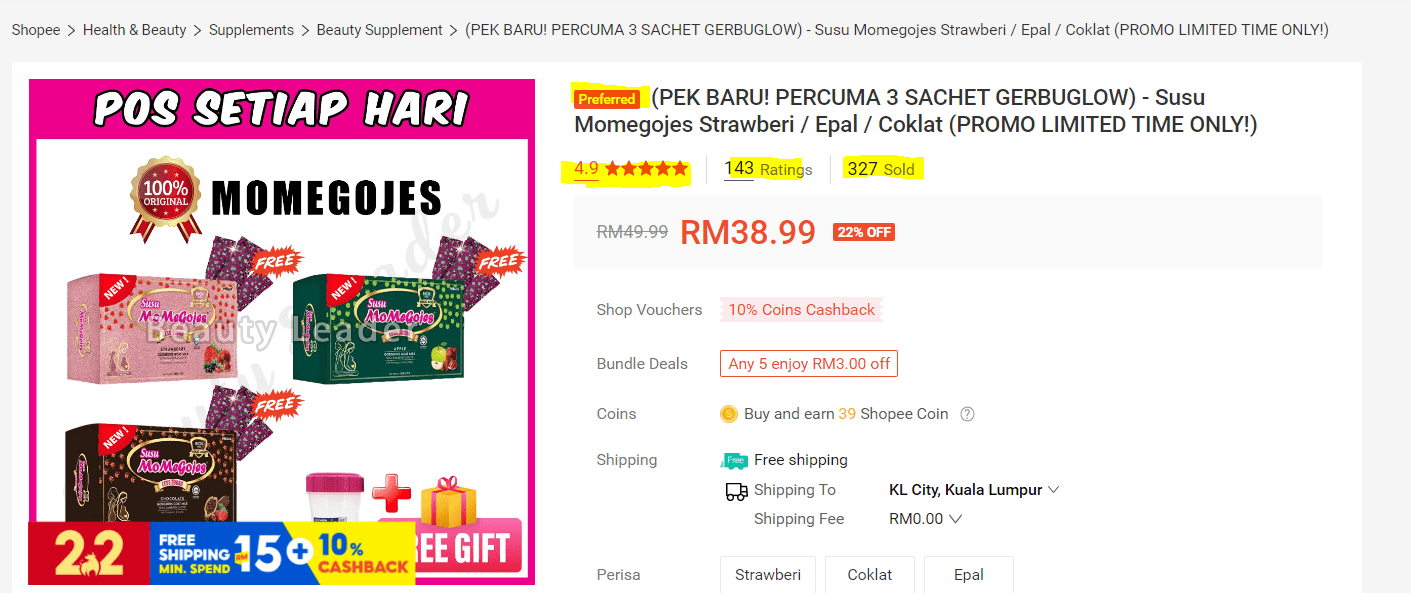 shopee review