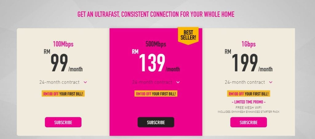 time internet 2021 package price Malaysia